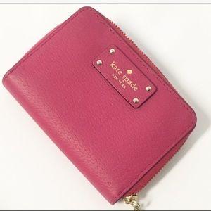 Kate Spade Key Wallet pink